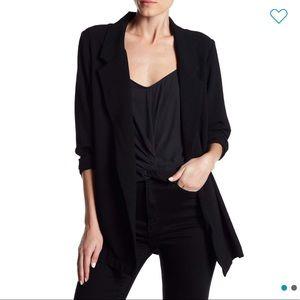 Lush Novak crepe blazer